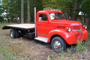 Classic Dodge tow truck by Ripplin