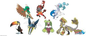 Pokemon: 3-Stage Evolutions - Alola: Final Stage