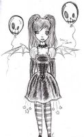 Demon Lolita Doodle by 00QuothTheRaven00
