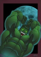 hulk smashed colored by roidboy