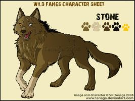 Wild Fangs Sheets_Stone by Tenaga