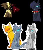 cats by Cheetwo16wolf
