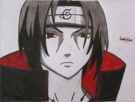 Uchiha Itachi by darkaslayer
