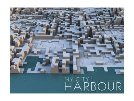 NY Harbour by lasaucisse