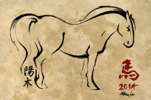 Year of the Horse 2014 by SketChelle
