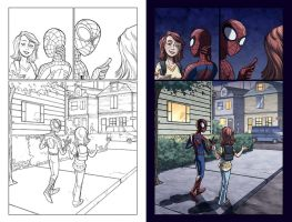 Spidey Loves MJ issue 2 p21 by guillembe