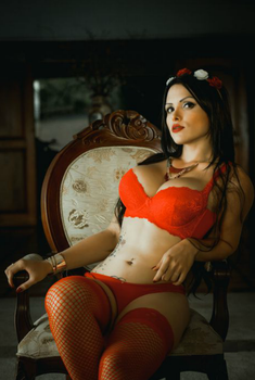 Candy Latina in red 1 by YasminRenata