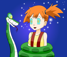 MIsty X Kaa by MegatronMan