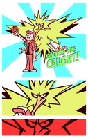Zapdos was Caught! by avroillusion