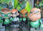 Munny Lantern Corps. by KidNotorious