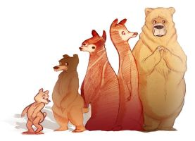 Bear Family by Jermmgirl