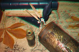 Anaglyphe -3D photo- by Pinutte
