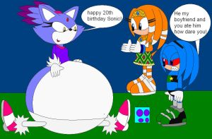 happy 20 birthday Sonic by shadevore