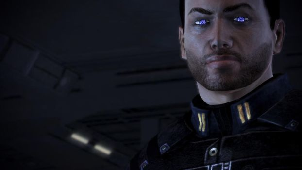 Commander Alexander Shepard. (ME3) by The-Jedi-Exile