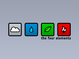 the four elements 1600x1200 by zuckerblau
