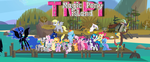 Total Magic Pony Island Title by shadow0knight