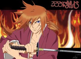 rurouni kenshin by julius17