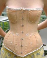 Regency Corset by princesshyrule