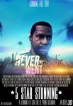 Never Went Black Poster Art by Samuel-Benjamin
