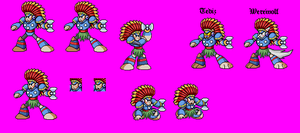 Tomahawk Man MvC Sprites by Greasiggy