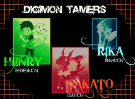 Tamers '' Wallpaper by poke2kewl