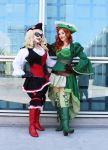 Pirate Harley and Ivy by Selenity