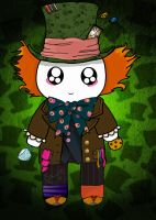 Mad Hatter Mochiface Background by PandoraLuv