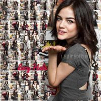 collage de Lucy Hale by LeahEditiions