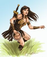 Xena by WendyDoodles