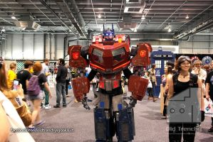 Optimus Prime cosplay at Adelaide Supanova 2014 by Old-Trenchy