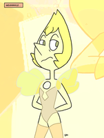 Steven Universe - Yellow Pearl 04 by theEyZmaster