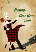 New Year Greeting by who93
