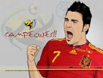 David Villa Campeon by akyanyme