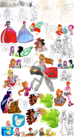 Winx pictures dump by Silencelabyrinth