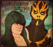 Cody and Goldust by Tamayo423