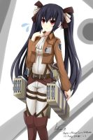 Noire + Recon Corp Uniform by LineZ31
