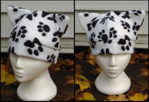 Paw Print Cat Hat by RainbowChickenDance