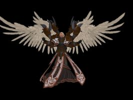 'Smite 'Archon Thanatos WIP by lezisell