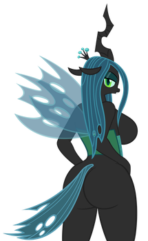 Queen Chrysalis Ass by sofunnyguy