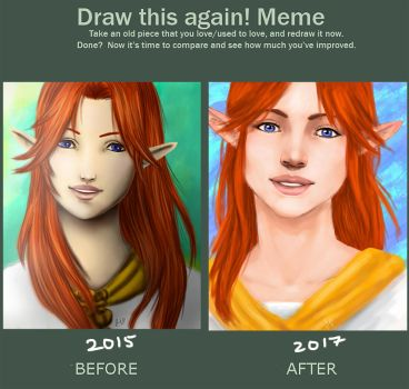 Draw This Again -Malon- -TLoZ : OoT- by annbelle