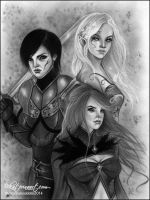 The Ministry Trinity commission by Katerina-Art