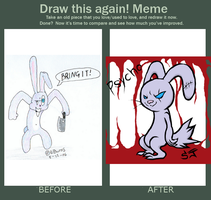 Before and After meme by SpookyScreamz