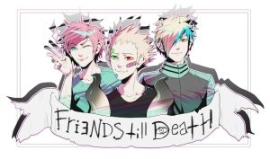 Friends till death-fanart by mr-rukan-san