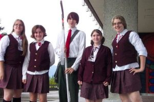 Negima Cosplay Group by HelloBatty