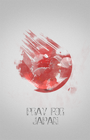Pray for Japan by aso78
