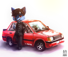 [Gift] Somebody's Car by thanshuhai