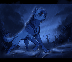 .:In The Pouring Rain:. by Ronkeyroo