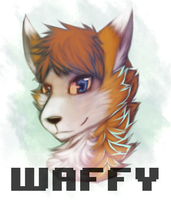 Waffy Badge by Eidride
