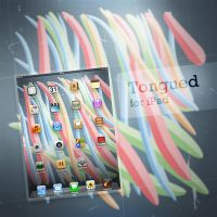 Tongued - iPad by pierofix