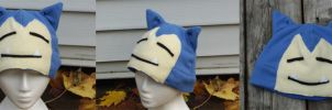 Snorlax Hat by RainbowChickenDance